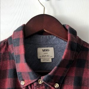 Vans Buffalo Check Plaid Classic Fit Shirt L